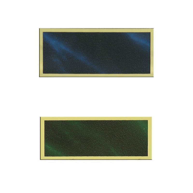 Alumīnija plāksnīte 54X22ММ - GB-AG11