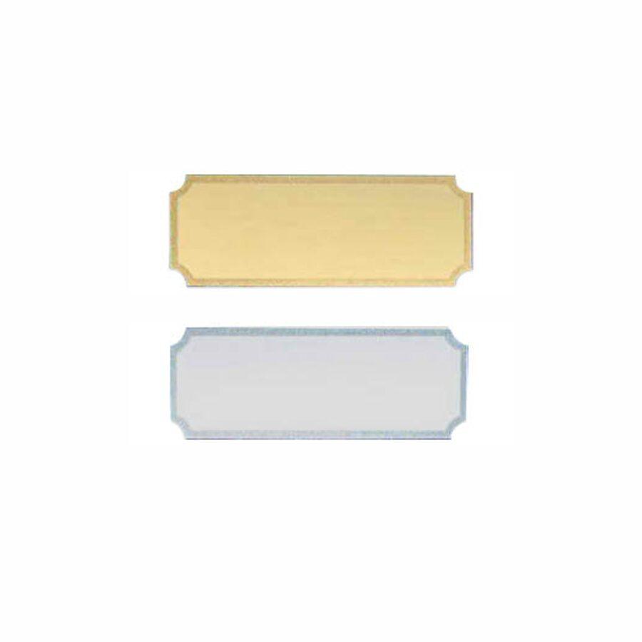 Metāla plāksnīte STR6277 (40x15mm)