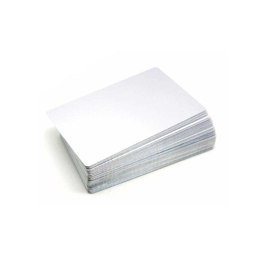Alumīnija vizītkarte, plāksnīte 85х54мм