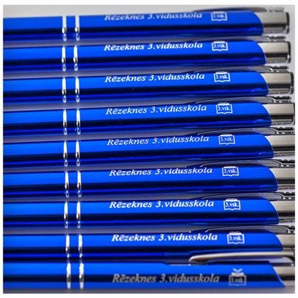 pildspalvu gravēšana, logo un nosaukuma gravējums
