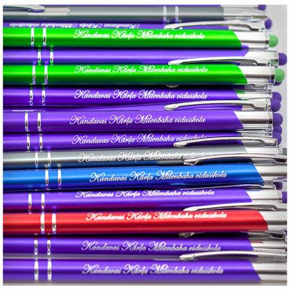 Gravēšana metāla pildspalvās